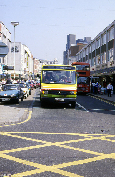 Another view of 283 in Oxford Street, Swansea.