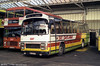 185 (MKH 644A) was a Leyland Leopard/Plaxton C47F, originally JOX 443P with Midland Red.
