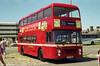 Nearside of Bristol VRT SL3/ECW CO43/31F 931 (RTH 931S) in its commemorative livery.