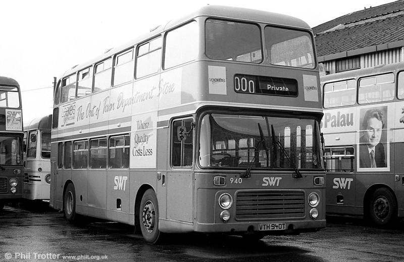 VRT 940 (VTH 940T) at Ravenhill.