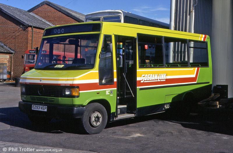 294 at Llanelli depot in June 1993.