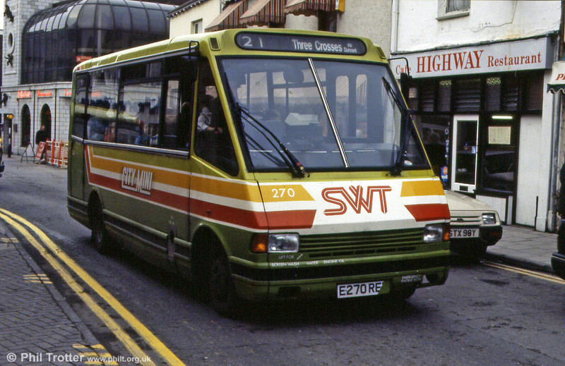 MCW 270 (E270 REP) pictured during 1992.