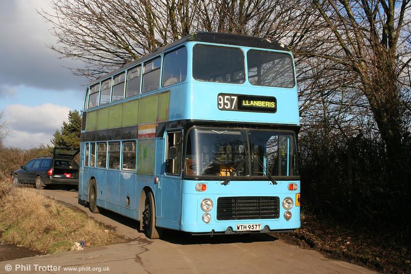 Bristol VRT 957 (WTH 957T) a  BristolVRT/SL3 with ECW H43/31F, seen in preservation. 27th December 2005.