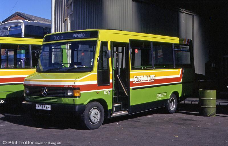 311 at Llanelli in June 1993.