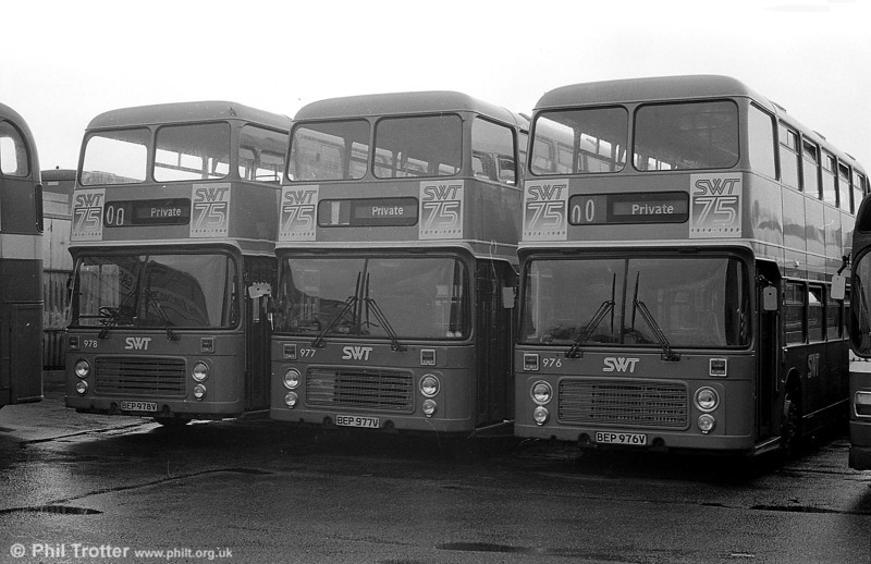 Three sisters: VRTs 976, 977 and 978 at Ravenhill.