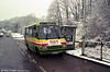 MCW 266 in winter weather at Olchfa.