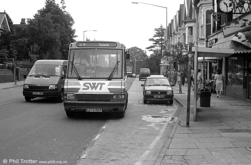 MCW 273 and an inconsiderate motorist at Uplands.