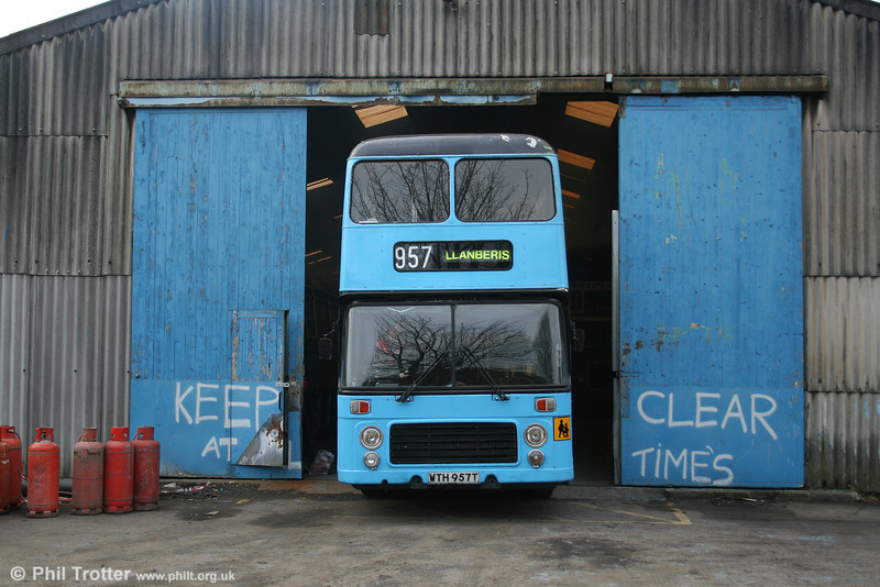 Bristol VRT 957 (WTH 957T) a  BristolVRT/SL3 with ECW H43/31F, seen in preservation.