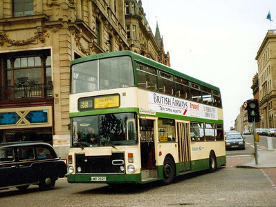 Eastern Scottish VV12A (LWB392P), Edinburgh, 26th June 1988