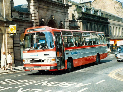 Highland Scottish T144 (OST225S), Inverness, 20th June 1988