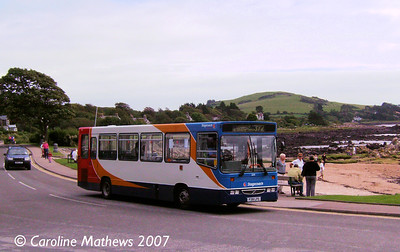 Stagecoach 32391 (P391LPS), Rockcliffe, 25th August 2007
