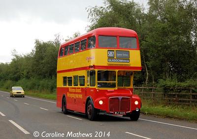 Clydeside Scottish WLT835 north of Lockerbie, 16th August 2014