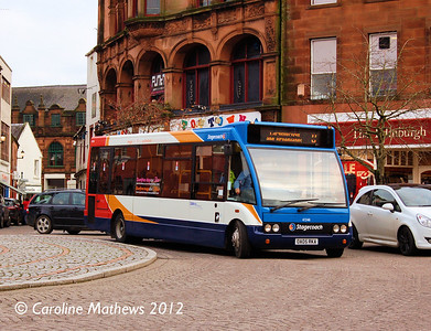 Stagecoach 47246 (OA05RKA). Dumfries, 14th January 2012