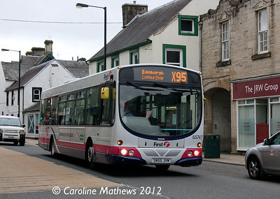 First 65747 (SN55JVM), Langholm, 2nd June 2012