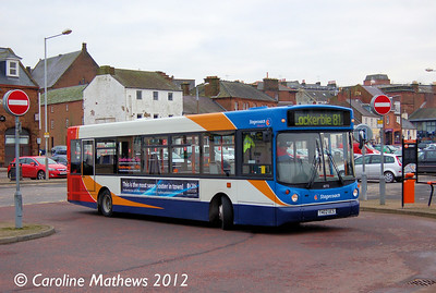 Stagecoach 33772 (T402UCS), Whitesands, Dumfries, 14th January 2012