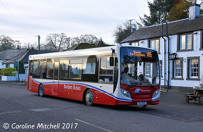 Borders Buses 11717 (YY17GSZ), Canonbie, 11th November 2017