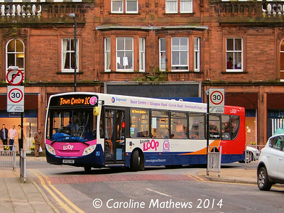 Stagecoach 27815 (SF62CNO), Charlotte Street, Dumfries, 15th March 2014
