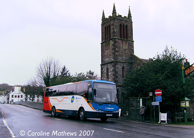 Stagecoach 52603 (S133KRM), Gatehouse of Fleet, 13th January 2017