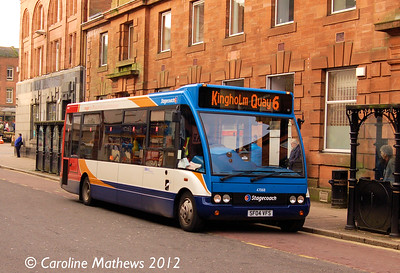 Stagecoach 47068 (SF04VFS), Dumfries, 14th January 2012