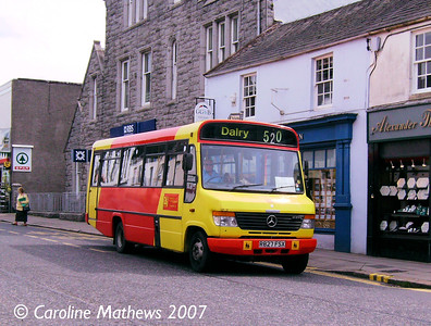 DG Buses R827FSX, King Street, Castle Douglas, 28th May 2007