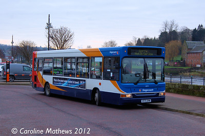 Stagecoach 33075 (V975DRM), Dumfries, 14th January 2012