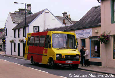 DG Buses M774PHH, Langholm, 26th August 2006