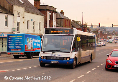 Houstons 17 (SF54ORA), Dumfries, 14th January 2012