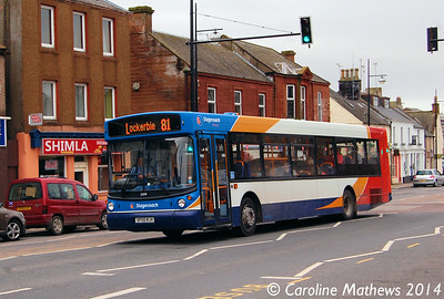 Stagecoach 22379 (SF55RJV), Whitesands, Dumfries, 15th March 2014