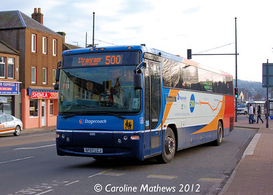 Stagecoach 53302 (SF07LCJ), Dumfries, 14th January 2012