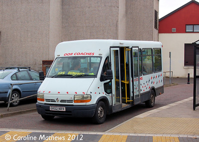 Oor Coaches GK02NRV, Annan, 5th May 2014