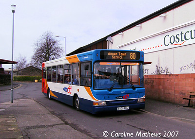 Stagecoach 34717 (PX05EKL), Butts Street, Annan, 17th February 2007 Cumb34717_17Feb07