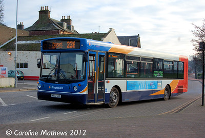 Stagecoach 22602 (V602GCS), Dumfries, 14th January 2012