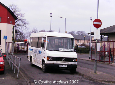 Telfords N501AWB, Butts Street, Annan, 17th February 2007 Telfords_N501AWB_17Feb07