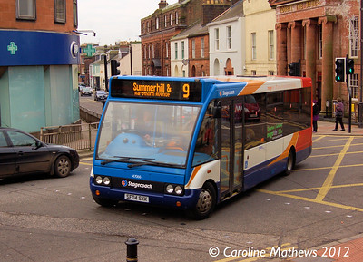 Stagecoach 47066 (SF04SKK), Dumfries, 14th January 2012