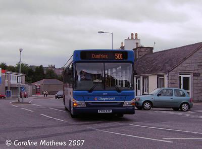 Stagecoach 33079 (PY02KTP), Dalbeattie, 25th August 2007