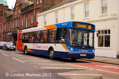 Stagecoach 22382 (SF55RJZ), Dumfries, 14th January 2012