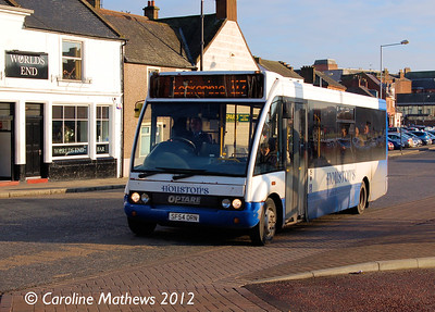 Houstons 19 (SF54ORN), Dumfries, 14th January 2012
