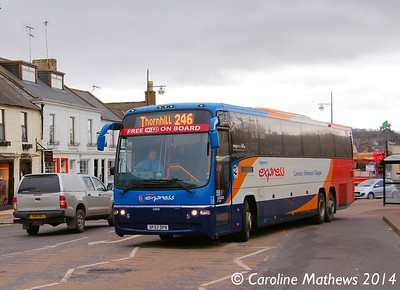Stagecoach 54041 (SF57DPV), Whitesands, Dumfries, 15th March 2014