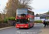 Borders Buses 41105 (YR61RVM), Stirling Street, Galashiels, 11th November 2017