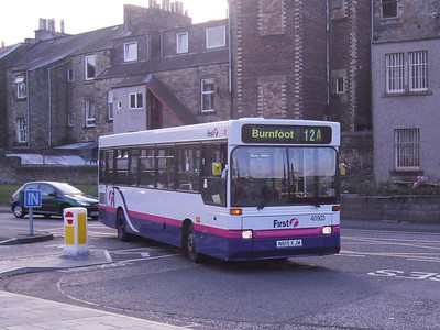 First 40903 (N615XJM), Hawick, 20th October 2007