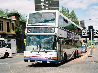 First 31506 (SA52DVR), Glasgow, 13th May 2006