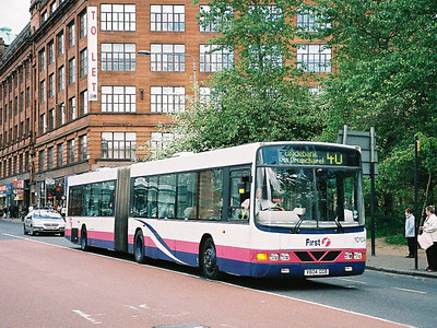 First 10104 (V604GGB), Glasgow, 13th May 2006