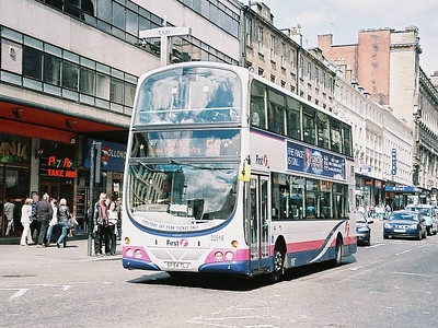 First 32616 (SF54TLJ), Glasgow, 13th May 2006