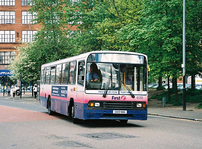First 61265 (G619NWA), Glasgow, 13th May 2006