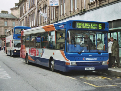 Stagecoach Transbus Dart 34490 (SV53DDY) on Union Street whilst working a city service
