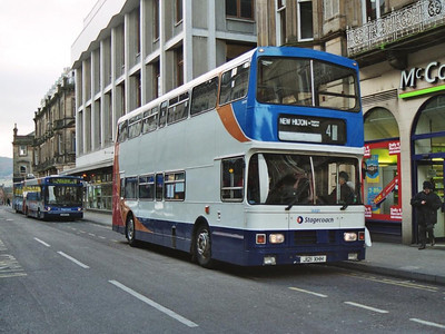Stagecoach Alexander bodied Leyland Olympian 14491 (J121XHH) on Queensgate, 19th February 2005.