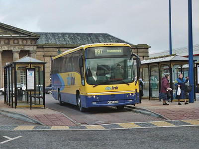 Rapsons B10M-62 647 (W743NAS) at the Bus Station, having just arrived on a Citylink service