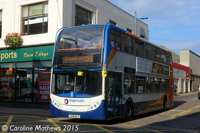 Stagecoach 19370 (SV58BLX), Margaret Street, Inverness, 2nd October 2015