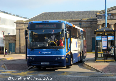 Stagecoach 270557 (YX05FEK), Inverness Bus Station, 2nd October 2015