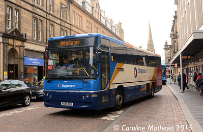 Stagecoach 27057 (YX05FEK), Queensgate, Inverness, 2nd October 2015